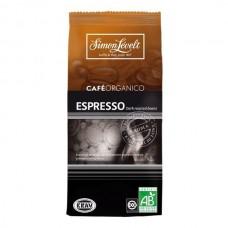 Káva ESPRESSO dark beans - celé zrno 250g Simon Lévelt