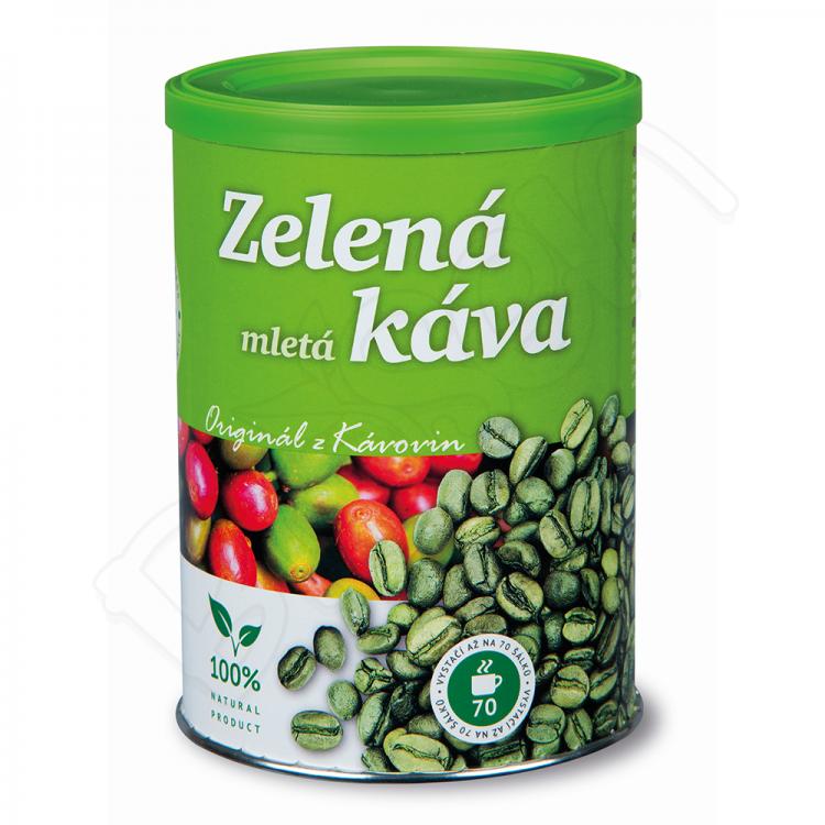 Zelená káva mletá 230g