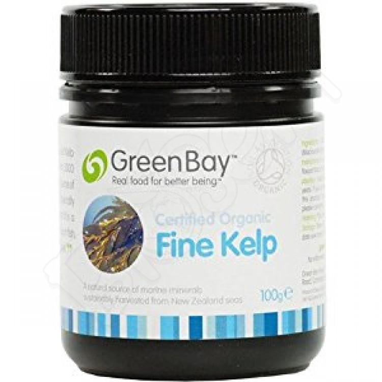 Kelp vločky - jemné morské riasy BIO 100g GreenBay