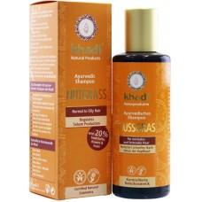Šampón ORECHOVÁ TRÁVA pre normálne a mastné vlasy 210 ml Khadi