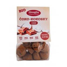 Čoko - kokosky s kakaom BIO 100g Biopekárna Zemanka