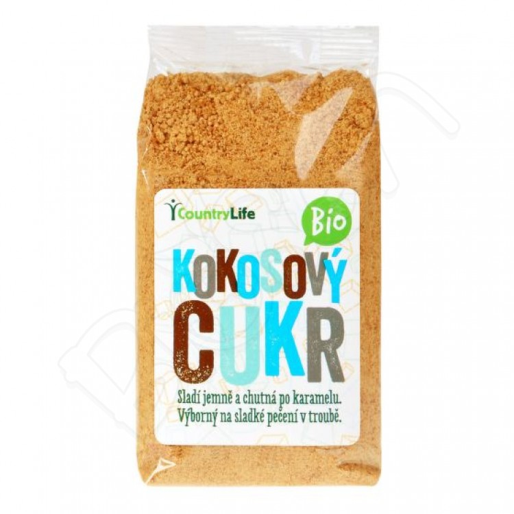 Kokosový cukor BIO 250g Country Life