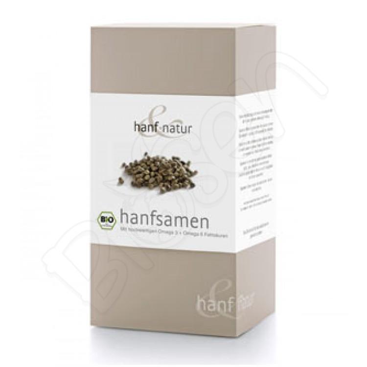 Konopné semienka BIO nelúpané 500g Hanf&Natur
