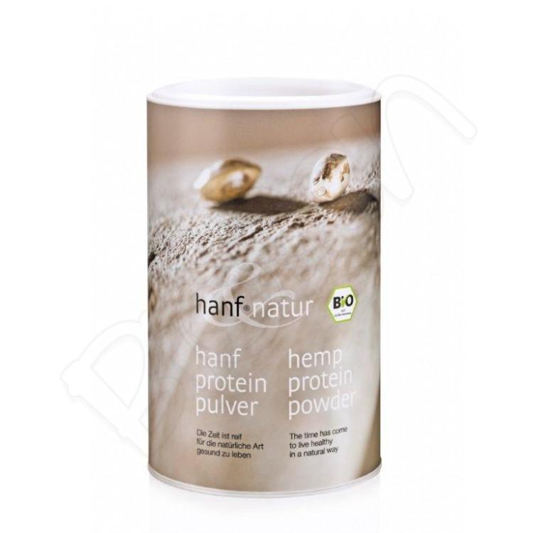 Konopný proteín RAW 450g Hanf&Natur