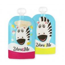 Kapsička na opakované použitie 2ks KUCHÁR Zebra&Me
