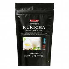 Kukicha sypaný zelený čaj BIO 85g Sunfood