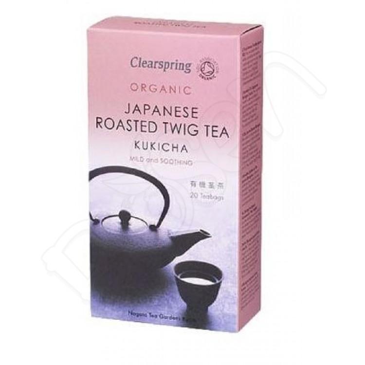KUKICHA japonský zelený čaj BIO 40g Clearspring
