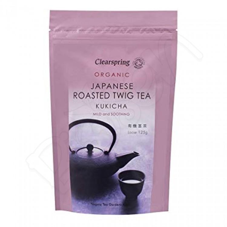 KUKICHA japonský zelený čaj BIO 125g Clearspring