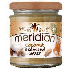 Mandľová pasta s kokosom 170g Meridian