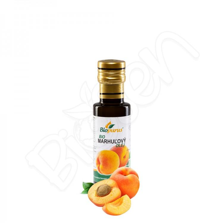 Marhuľový olej BIO 100ml Biopurus