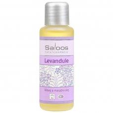 Levanduľový masážny olej 50ml Saloos