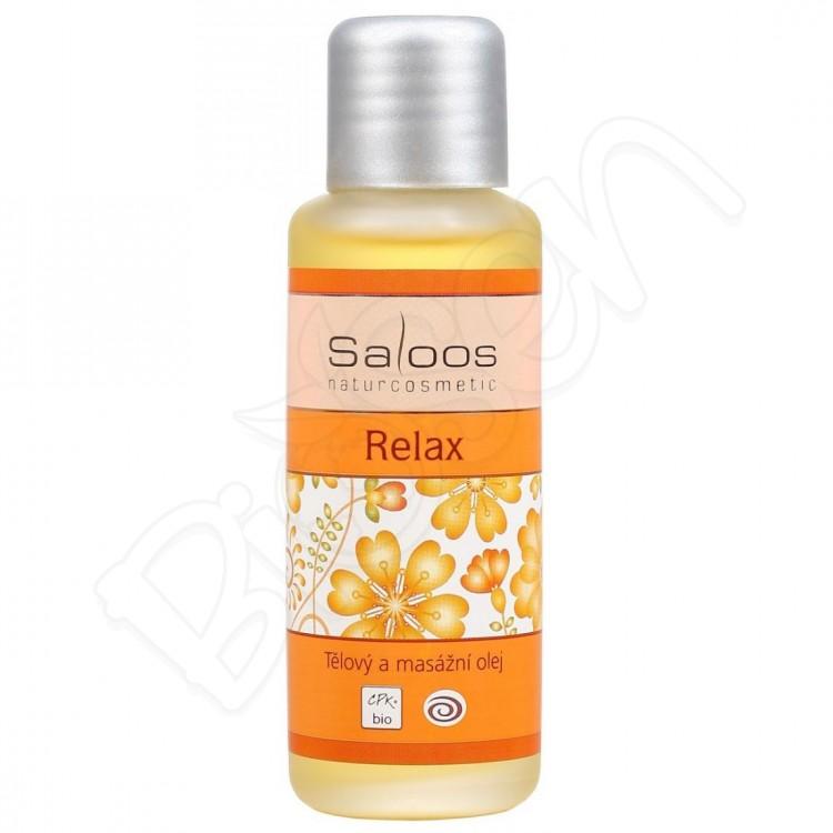 Relax masážny olej 50ml Saloos