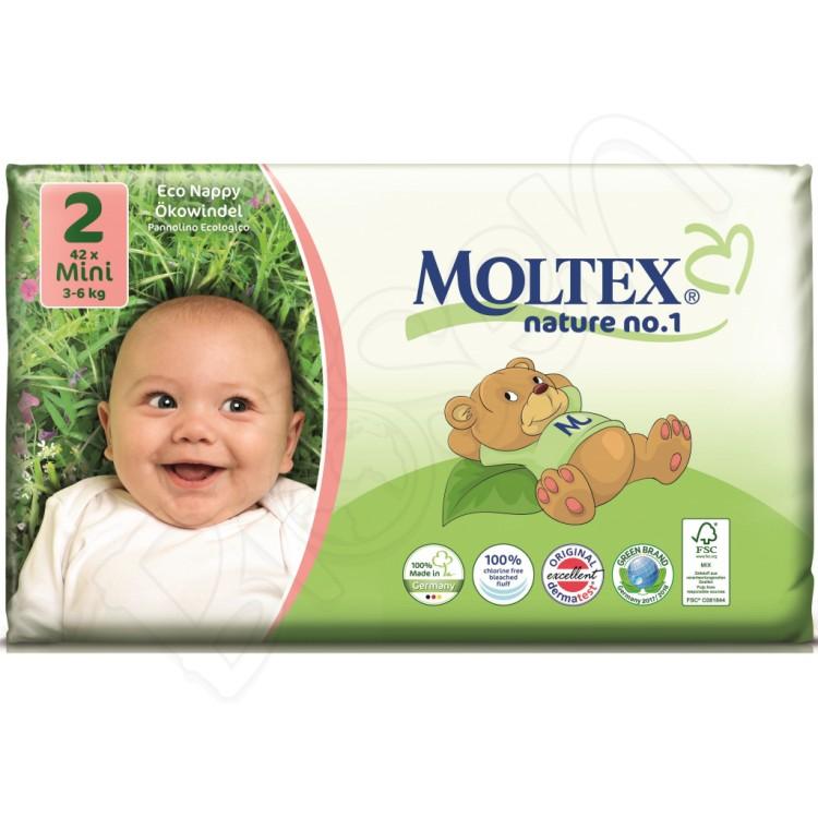 Ekoplienky MINI 3-6 kg (42 ks) Moltex