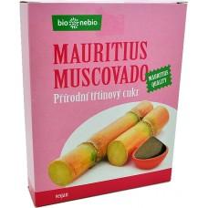 Prírodný trstinový cukor Muscovado 400g Bionebio