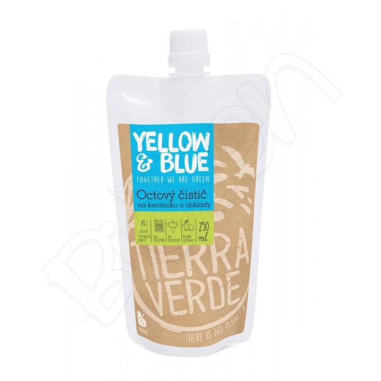 Octový čistič na keramiku a obklady 250ml Yellow & Blue