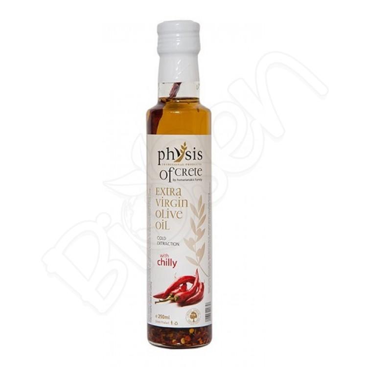 Olivový olej extra panenský z Kréty - CHILLY 250ml Physis of Crete