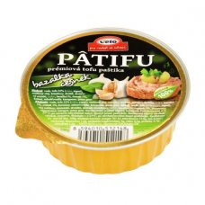 PATIFU paštéta bazalka a cesnak 100g Veto Eco