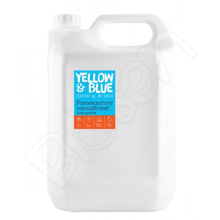 Pomarančový čistič 5L koncentrát Yellow & Blue