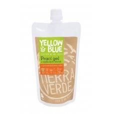 Prací gel z mydlových orechov 250ml pomarančový Yellow & Blue