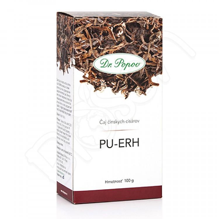 Pu-erh čaj sypaný 100g Dr. Popov