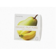 Ovocné pyré Hruška - Banán BIO 2x100g Clearspring