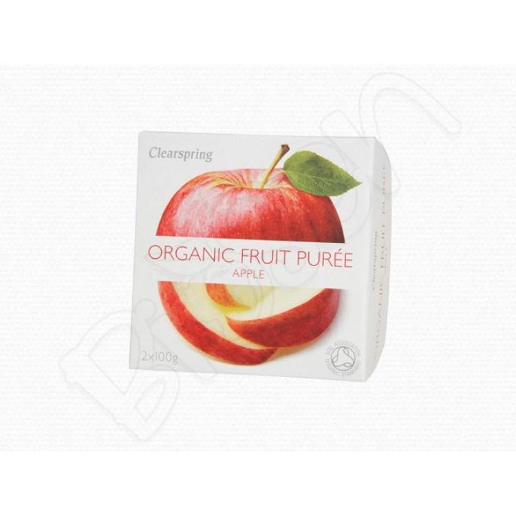 Ovocné pyré Jablko BIO 2x100g Clearspring