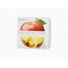 Ovocné pyré Jablko - Ananás BIO 2x100g Clearspring