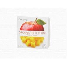 Ovocné pyré Jablko - Mango BIO 2x100g Clearspring