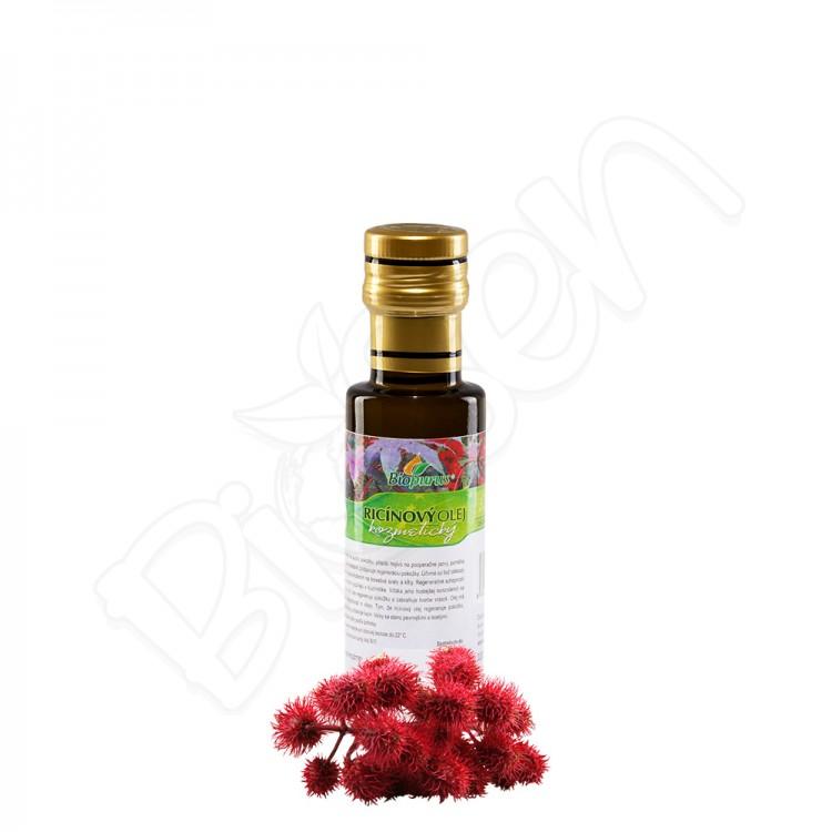 Ricinový olej kozmetický BIO 100ml Biopurus