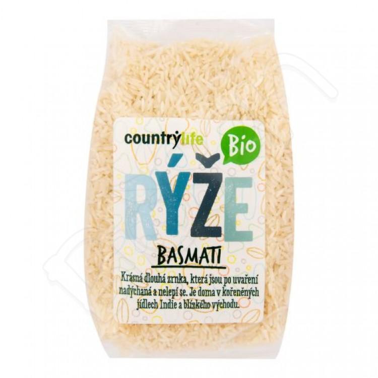 Basmati ryža lúpaná BIO 500g Country Life