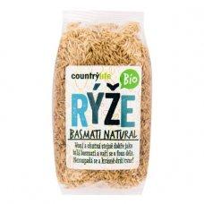 Basmati hnedá ryža natural BIO 500g Country Life