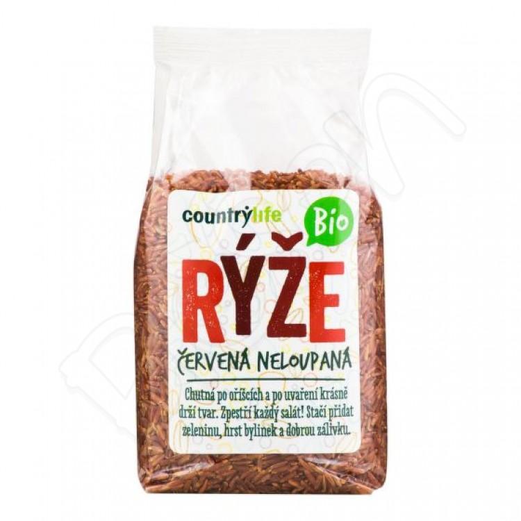 Červená ryža BIO 500g Country Life
