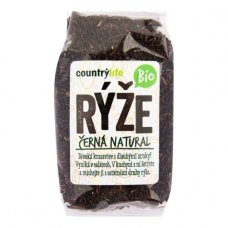 Čierna ryža natural BIO 500g Country Life