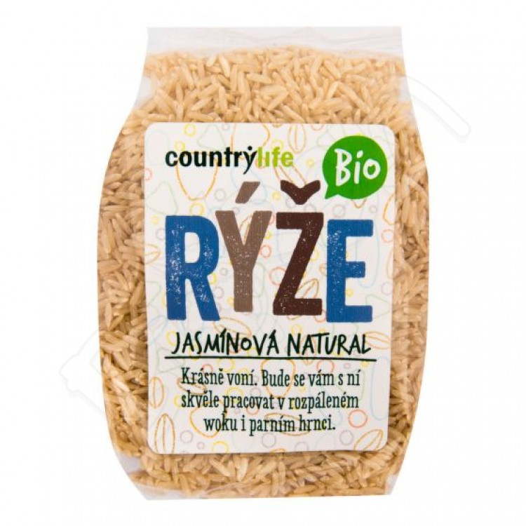 Jasmínová ryža natural BIO 500g Country Life
