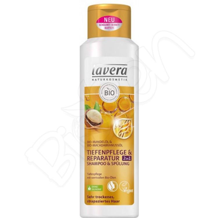 Šampón mandľový na SUCHÉ VLASY a pokožku 250ml BIO Lavera