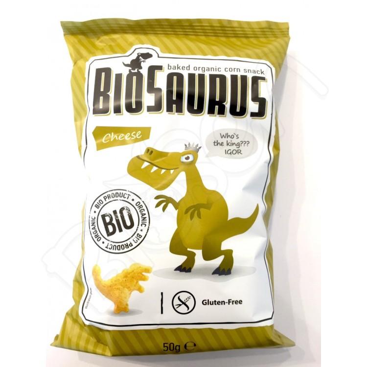 Chrumky syrové BIO 50g Biosaurus