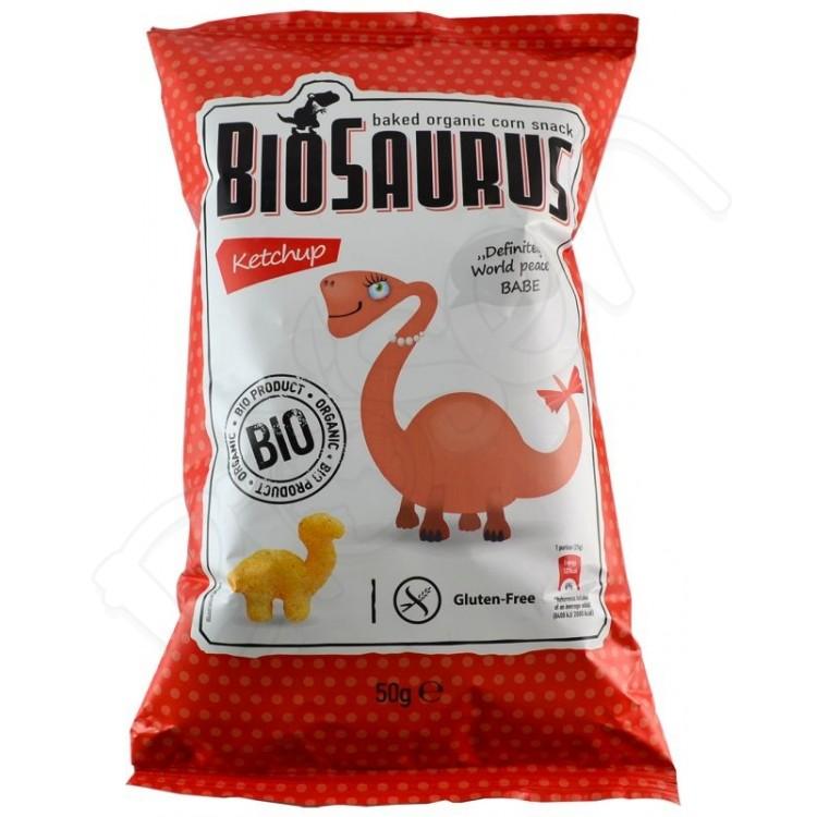 Chrumky kečup BIO 50g Biosaurus