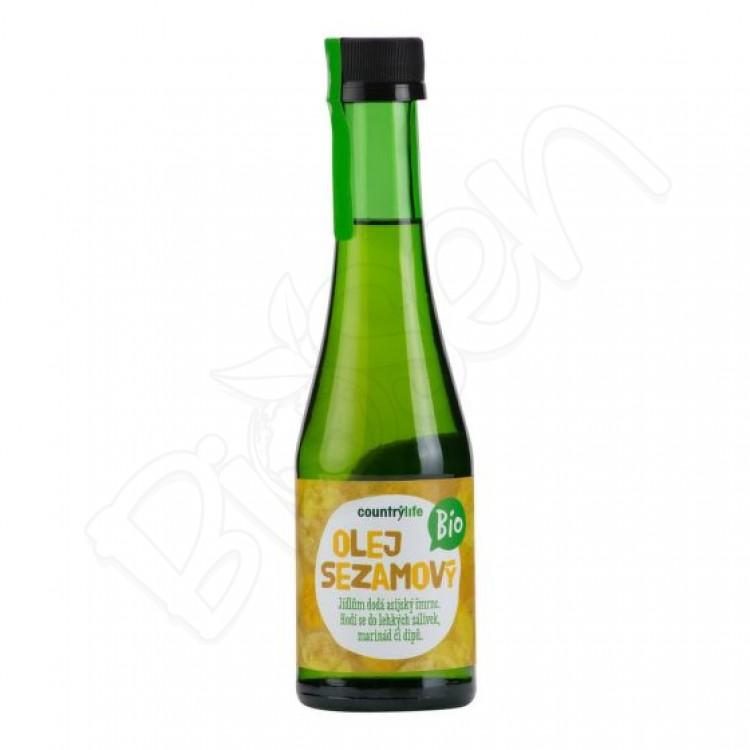 Sezamový olej 200ml BIO Country Life