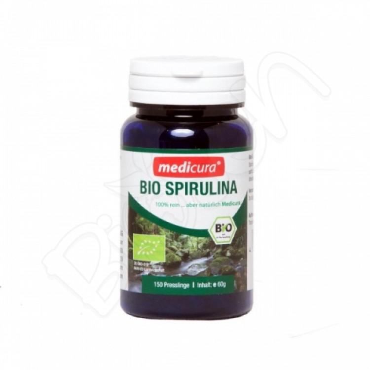 Spirulina BIO 60g (150 tabliet) Medicura