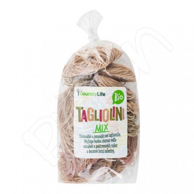 Tagliolini Mix BIO 400g Country Life