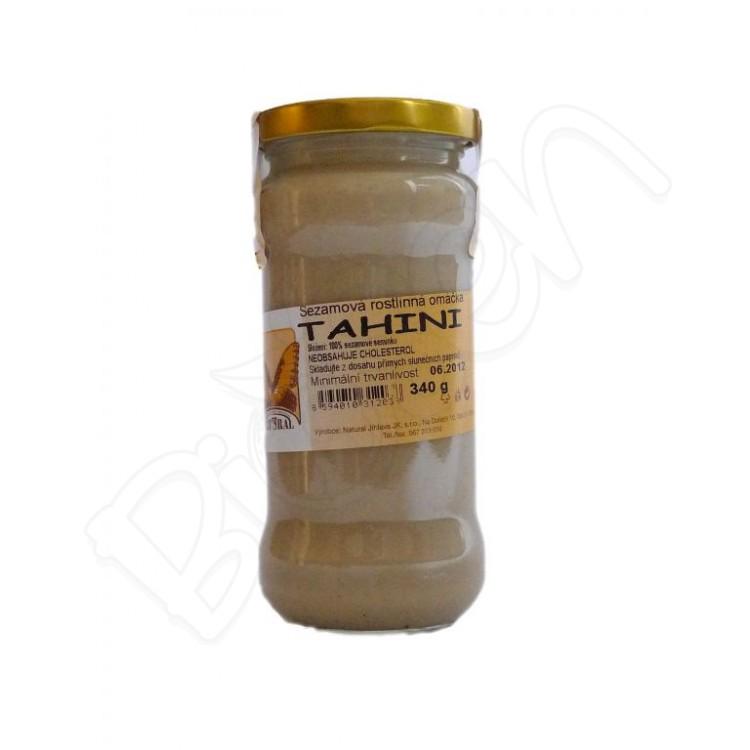 Tahini, sezamová pasta 310g Natural Jihlava