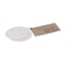 Kozmetický tampón prateľný z biobavlneného zamatu – malý (7 cm) MAMA&NATURA