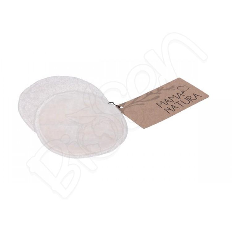 Kozmetický tampón prateľný z biobavlneného zamatu – velký (9 cm) MAMA&NATURA