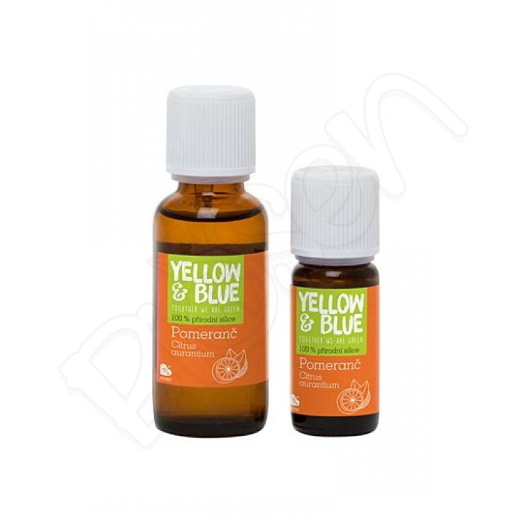 Silica pomaranč, Yellow & Blue 30ml