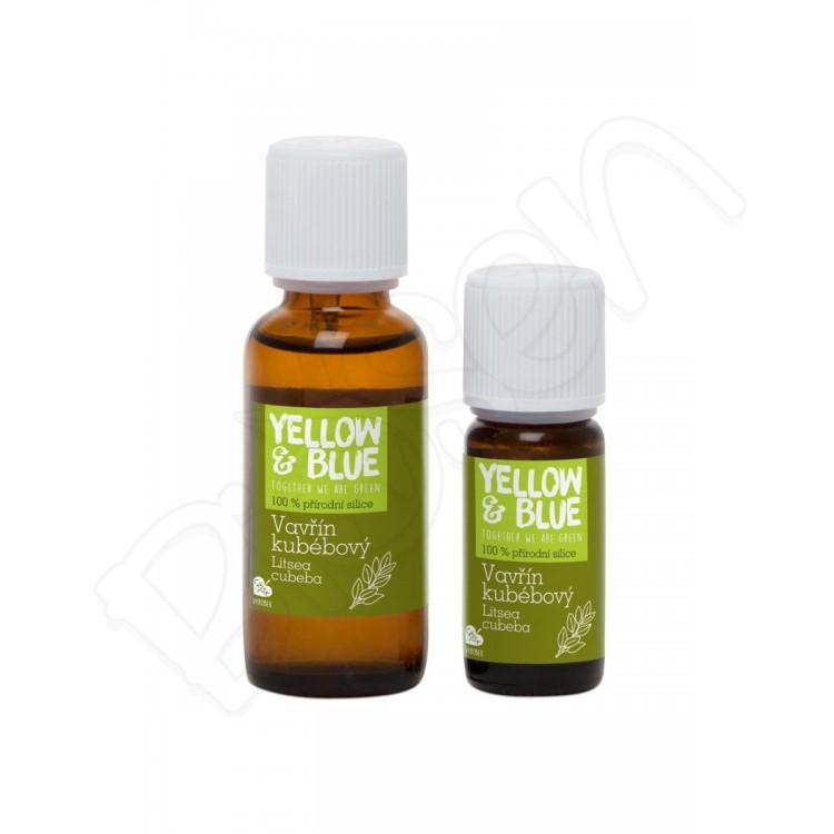 Silica vavrín kubébový, Yellow & Blue 30ml