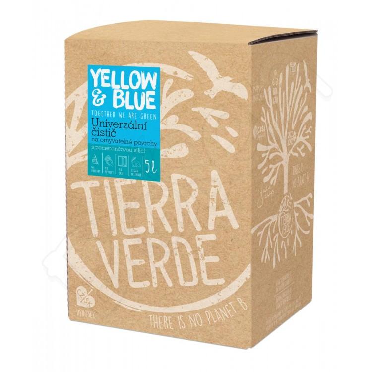 Univerzálny čistič z mydlových orechov 5L Yellow & Blue