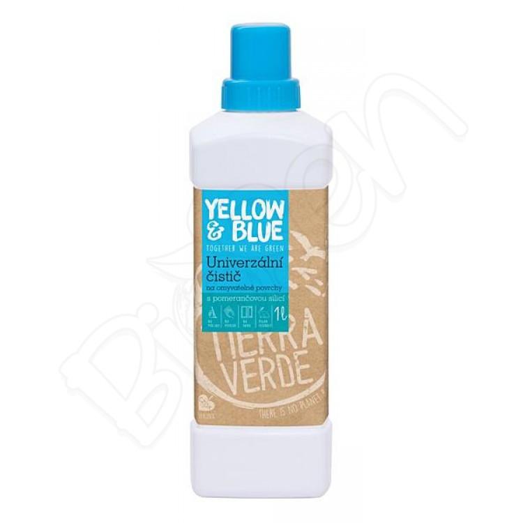 Univerzálny čistič z mydlových orechov 1L Yellow & Blue