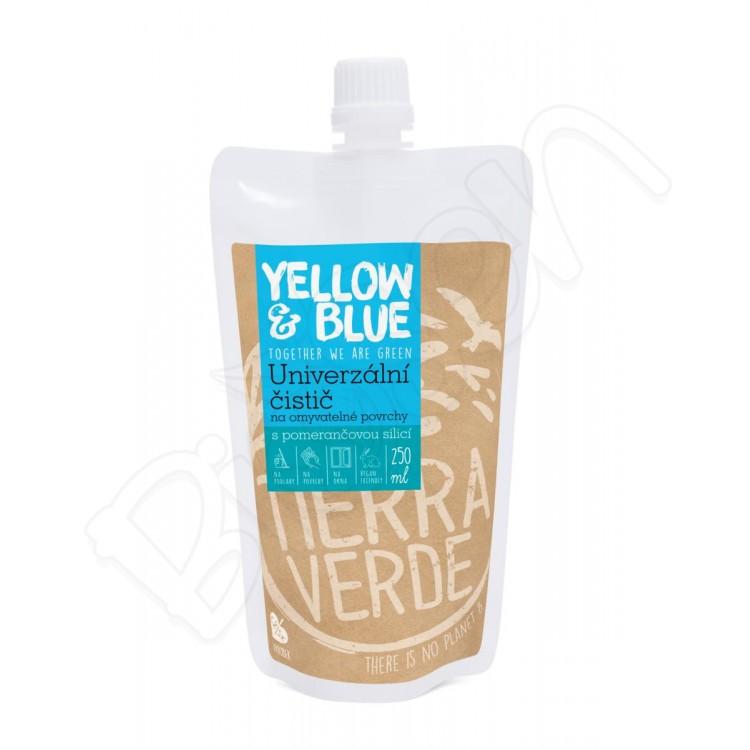 Univerzálny čistič z mydlových orechov 250ml Yellow & Blue