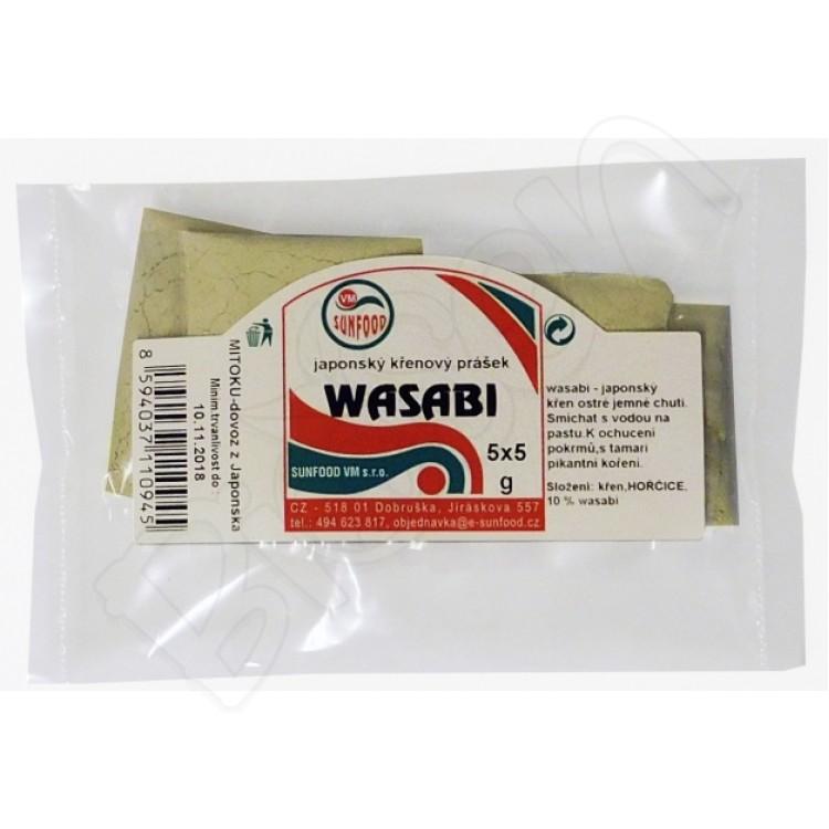 Wasabi chren 25g Sunfood