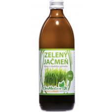 Zelený jačmeň 100% šťava 500ml EkoMedicaSk